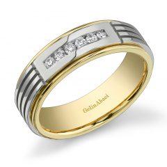 Gelin Abaci Amore Men's Wedding Band #C-4839