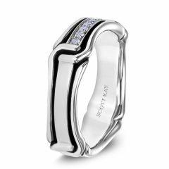 Scott Kay Men's Wedding Band Style G4084RBV6