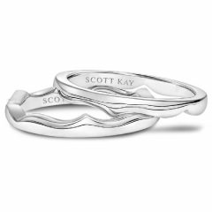 Scott Kay Embrace Wedding Band #31-SK5697W