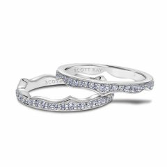 Scott Kay Embrace Wedding Band #33-SK5698W