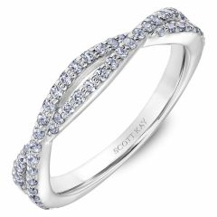 Scott Kay Namaste Wedding Band #31-SK5637W